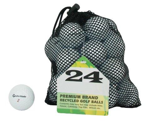 Second Chance TaylorMade 24 Balles de golf de récupération...