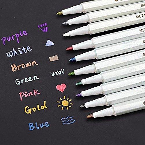 inibud-metallic-marker-pens-satz-von-10-farben-fur-kartenherstellung-diy-fotoalbum-gebrauch-auf-irge