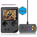 Consoles De Jeux Portable console de jeu Retro FC avec 1 Joystick PCS pour deux joueurs console de jeu vidéo pour système de divertissement avec 3 pouces 168 jeux classiques (FC avec un joystick)