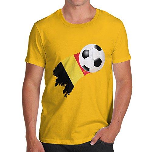 TWISTED ENVY Herren T-Shirt Gelb