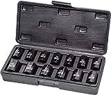 Autojack - Juego de vasos métricos de impacto (10-24 mm, 13 unidades)
