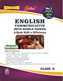 Golden English Communicative (with Sample Papers):  A Book with Difference Class - 10 (2018-19 Session)