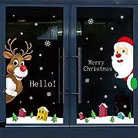 HAPPYLR Adesivi Adesivi Natalizi Adesivi per vetri in Vetro Adesivi statici  Mall Shop Adesivi per Porte 618eb92fde73