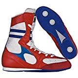 nivia boxing shoes blue/red 11