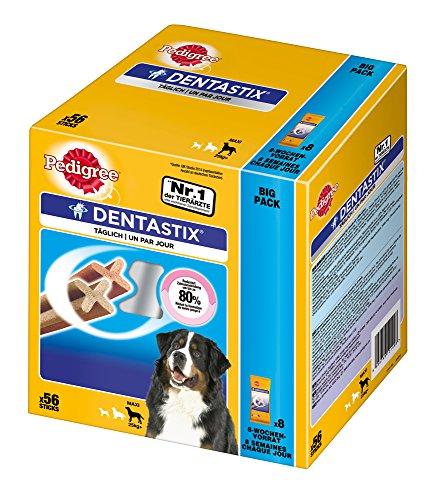 Pedigree DentaStix, Hundeleckerli für große Hunde (1 x 56 Stück) Test