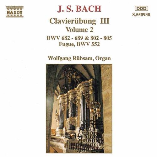 Bach, J.S.: Clavierubung III, Vol. 2