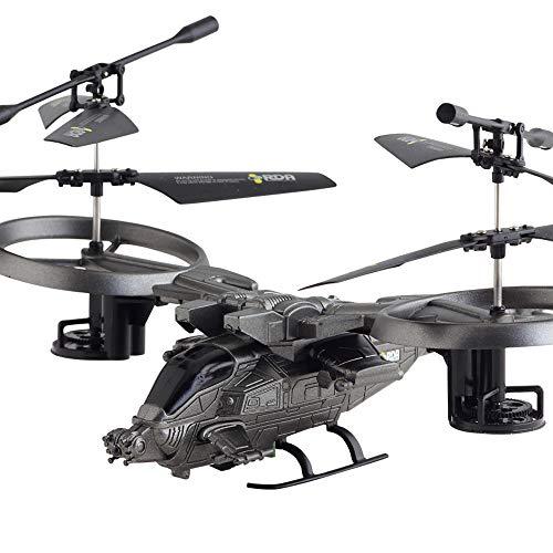 CAOQAO Mini Micro Drohne Rc Helikopter Kinder Spielzeug Drohne Kaufen 360-Grad-3D-Version 2,4-GHz-Steuersystem ABS-Luftfahrtmaterial USB-Ladekabel Coole Spielzeuge