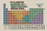 Pyramid International la TV e Movie Binge Watching tavola Periodica Maxi Poster, plastica/Vetro, Multicolore, 61x 91.5x 1.3cm