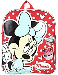 Minnie Mouse Plain Value Backpack by Trade Mark Collections