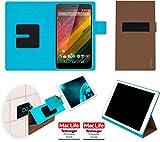 reboon Hülle für HP Slate 7 VoiceTab Ultra Tasche Cover Case Bumper   in Braun   Testsieger