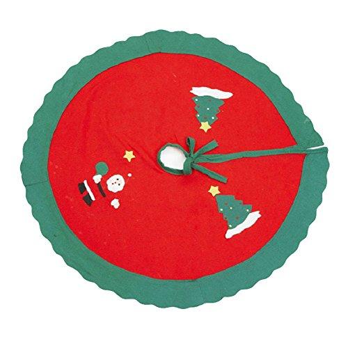 Ruikey 35-Inch Árbol Navidad falda Xmas Tree Base