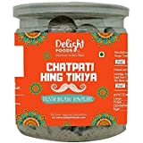 Delight Foods Traditional Churans, Mukhwas & Paan - Premium Quality - Hygienically Packed (Chatpata Hing Tikiya, 300G)