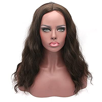 Synthetic Wigs For Black Women Natural Curly Wavy Style Hair Wigs for Woman 22 Inch from feibinn