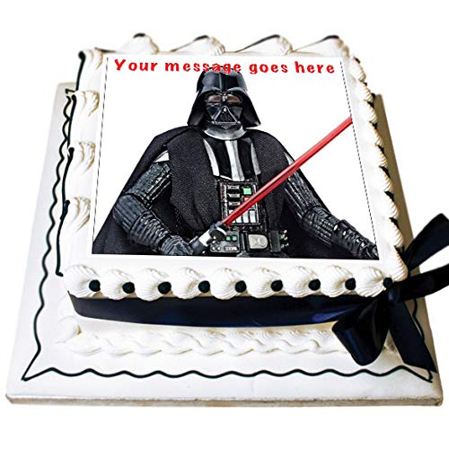 Tortenaufsatz Darth Vader, essbar, 19 cm, 1 Stück