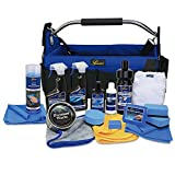 Petzoldts XL Fahrzeugpflege-Set; 14 Produkte + Fahrzeug-Pflegetasche; Carnaubawachs