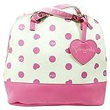 Camomilla Milano Umwandelbarer Rucksack Mittel Schultertaschen Weib Pink Madchen Damen