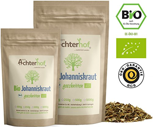 Johanniskraut Tee Bio (500g) Johanniskrauttee aus kontrolliert biologischen Anbau vom-Achterhof