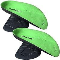 medipaq ¾ Arch Hilfe Fuß Unterstützung–Plantarfasziitis Bögen Schmerzlinderung Einlegesohlen, preisvergleich bei billige-tabletten.eu