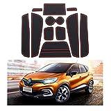 YEE PIN Tapis de Voiture antidérapant pour Renault Captur SUV