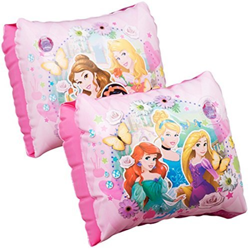 new-disney-princess-childrens-kids-inflatable-safety-swimming-arm-bands-pool-float-aid-3-6-years-by-