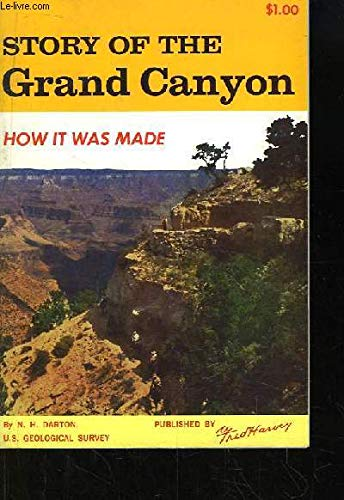 Story of the Grand Canyon. How it was made. - Fred Harvey-grand Canyon