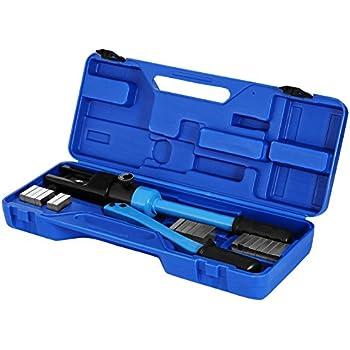 OUKANING Pince /à sertir hydraulique Pince /à sertir Pince /à sertir 4-70 mm2//10T