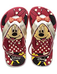 Disney Girl's Dancing Minie Thong Pink Indian Shoes - 7 Kids UK/India (25 EU)(3715091)