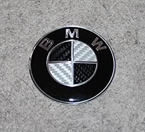 Sticker BMW pour emblème 82 mm logo insigne badge bleu carbone