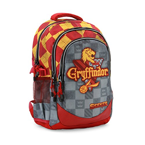Harry Potter Quidditch Gryffindor Mochila tipo casual, 44 cm, 21 litro