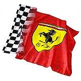 Scuderia Ferrari Fan Flag, 2 x 1,4 m, Fahne, Flagge, Formel 1, F1, Vettel, Räikkönen