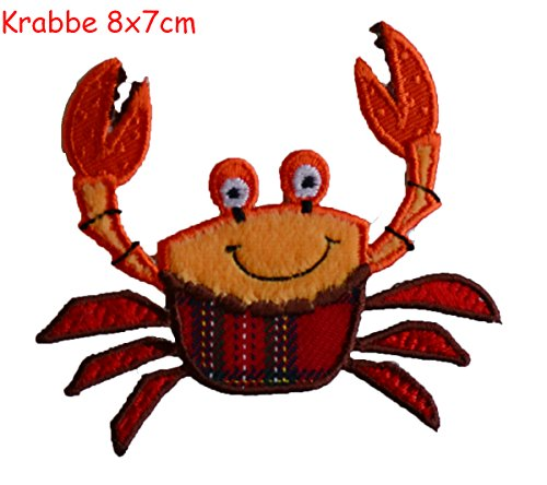 Applique Patch Toppe TrickyBoo - Granchio 8x8cm
