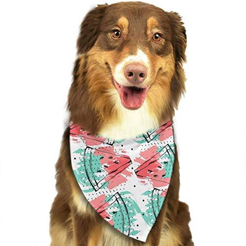 (Hipiyoled Wassermelone Obst Muster Mode Hund Bandana Lätzchen Schal Haustier Hund Katze Hund Schal)
