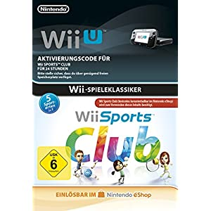 Wii Sports Club 24 hour pass [Wii U Download Code]