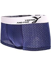 Herren Atmungsaktive Mesh Boxershorts Unterhose Unterwäsche aus Modal Baumwolle Farbwahl