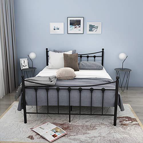 Sproutor Doppelbett Metallbett Einzel Bett Metall ...