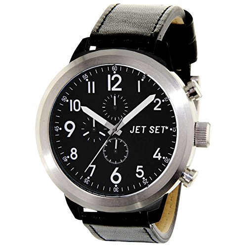 Jet Set Men's Watch Manhattan black/silver J74583-217