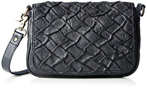 Taschendieb Damen Td0775 Umhängetaschen, 17x24x4 cm Schwarz (anthra)