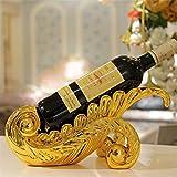 Madaye Mode Wine Rack Décoration Cave à vin Décoration Produits 35*8*15cm