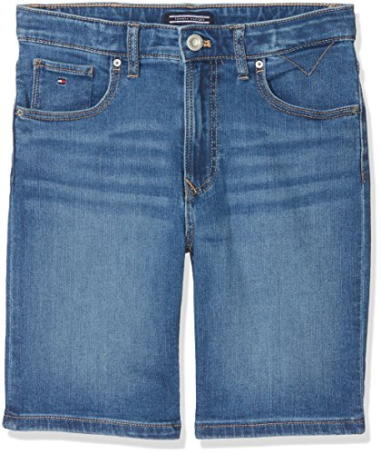 Tommy Hilfiger Jungen Jeans Randy Relaxed Short Climbst, Blau (Clifton Mid Blue Stretch 911), 104 (Tommy Short Hilfiger Jeans)