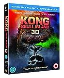 Kong: Skull Island [Blu-ray 3D + Blu-ray + Digital Download] [2017]