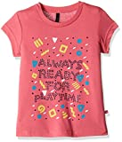 #10: United Colors of Benetton Baby Girls' T-Shirt (16A3094C173SIK270Y_Dark Pink_0Y)