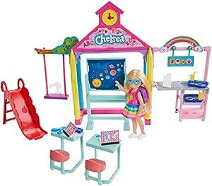 Barbie Chelsea ¡Hora de ir a la escuela! Muñeca con accesorios (Mattel GHV80)