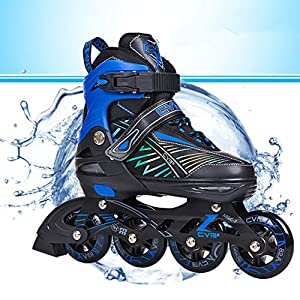 Flashing Skates Anfänger Professionelle Single Roller Skates 8 Räder Racing Skating Geschwindigkeit Free Skating Racing Skates