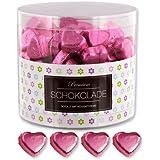 150 rosa Schokoladen Herzen Heidelberg