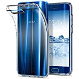 Huawei Honor 9 Hülle, Spigen® [Liquid Crystal] Soft Flex Silikon [Crystal Clear] Transparent Maßgeschneidert Passgenau Dünn Schlank Bumper-Style Handyhülle Premium Kratzfest TPU Durchsichtige Schutzhülle für Huawei Honor 9 Case Cover - Crystal Clear (L17CS21993)