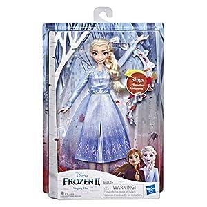 Disney Frozen 2 - Elsa Cantante, Bambola elettronica con Abito Azzurro, Ispirato al Film Frozen 2 10 spesavip