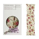 UMOI Lavendel & Weizen Kissen für Entspannung und Wohlbefinden zum Aufwärmen im Backofen oder Mikrowelle I 700 Gramm Lavendel & Weizen I 42cm x 12cm (Retro)