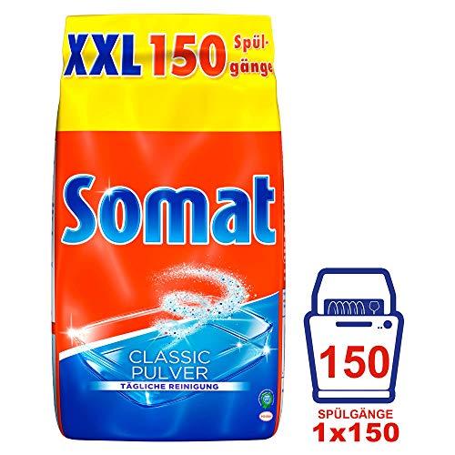 Somat Classic Spülmaschinen Pulver, für tägliche Reinigung, 1er Pack (1 x 3 Kg)