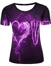 xijia maoyi Mens 3D Print Snow Tree Short Sleeve T Shirts Casual Graphics Tees yPb7H