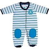 Grenouillère pyjama bébé garçon OM - Collection officielle OLYMPIQUE DE MARSEILLE - 12 mois